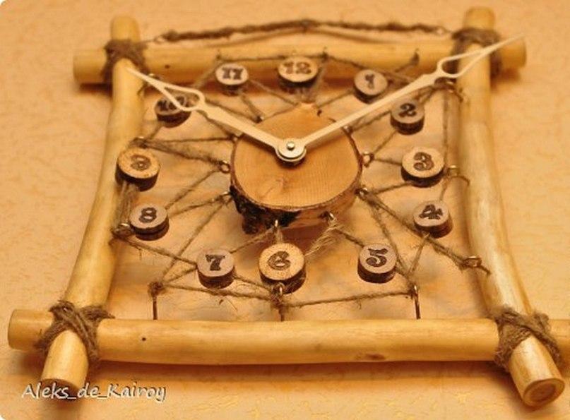 Часы своими руками из дерева своими руками
